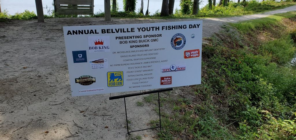 Annual Fishing Day Sign